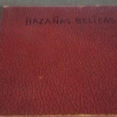 Tebeos: HAZAÑAS BELICAS TOMO CON 8 VOLUMENES DE 3 O 4 CAPITULOS CADA UNO 1957-8. Lote 201930737