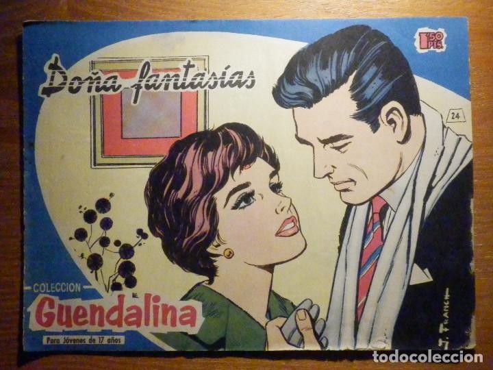 TEBEO - COMIC - COLECCIÓN GUENDALINA - Nº 24 - DOÑA FANTASIAS - TORAY (Tebeos y Comics - Toray - Guendalina)