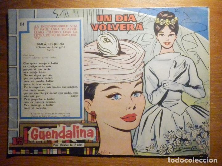 TEBEO - COMIC - COLECCIÓN GUENDALINA - Nº 114 - UN DÍA VOLVERÁ - TORAY (Tebeos y Comics - Toray - Guendalina)
