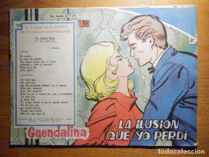 TEBEO - COMIC - COLECCIÓN GUENDALINA - Nº 124 - LA ILUSIÓN QUE YO PERDÍ - TORAY (Tebeos y Comics - Toray - Guendalina)
