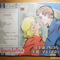 Tebeos: TEBEO - COMIC - COLECCIÓN GUENDALINA - Nº 124 - LA ILUSIÓN QUE YO PERDÍ - TORAY . Lote 202104891