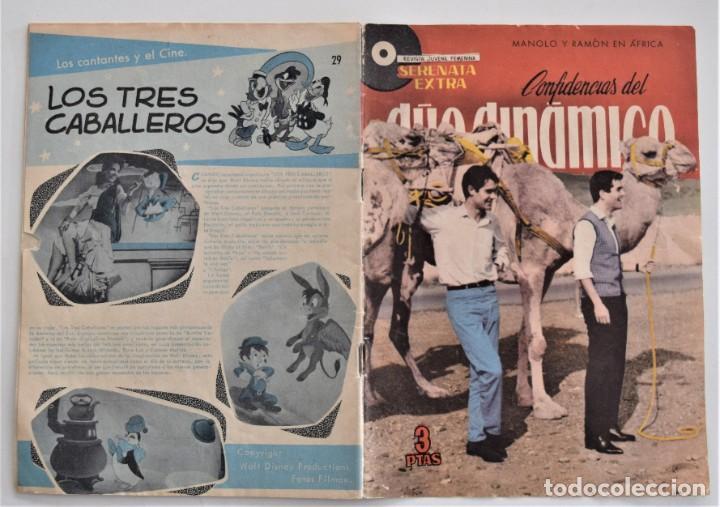 Tebeos: LOTE 5 SERENATAS EXTRAS CONFIDENCIAS DEL DÚO DINÁMICO Nº 12, 21, 25, 29 Y 33 MARISOL - Foto 3 - 202620400