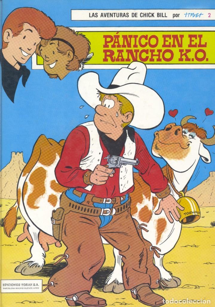CHICK BILL Nº2. TIBET Y GREG. TORAY, 1986 (Tebeos y Comics - Toray - Otros)