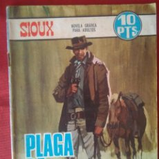 Tebeos: SIOUX - PLAGA DE FORAJIDOS - N°96 - 1967 - EDICIONES TORAY - NOVELA GRÁFICA - BUEN ESTADO GENERAL. Lote 202929705