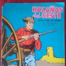 Tebeos: HAZAÑAS DEL OESTE Nº 99 - DISPAROS EN LA SOMBRA - ED. TORAY - 1965 - 48 PAG.. Lote 202931675