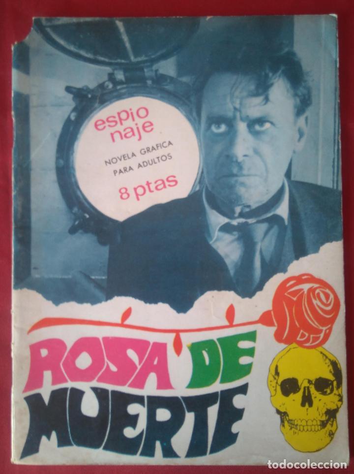 ESPIONAJE Nº 55 - ROSA DE MUERTE - ED. TORAY - 1967 - 48 PAG. (Tebeos y Comics - Toray - Espionaje)