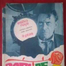 Tebeos: ESPIONAJE Nº 55 - ROSA DE MUERTE - ED. TORAY - 1967 - 48 PAG.. Lote 202931790