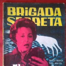 Tebeos: BRIGADA SECRETA - EL CUERVO - Nº33 - ED. TORAY - 1963 - 48 PAG.. Lote 202932297