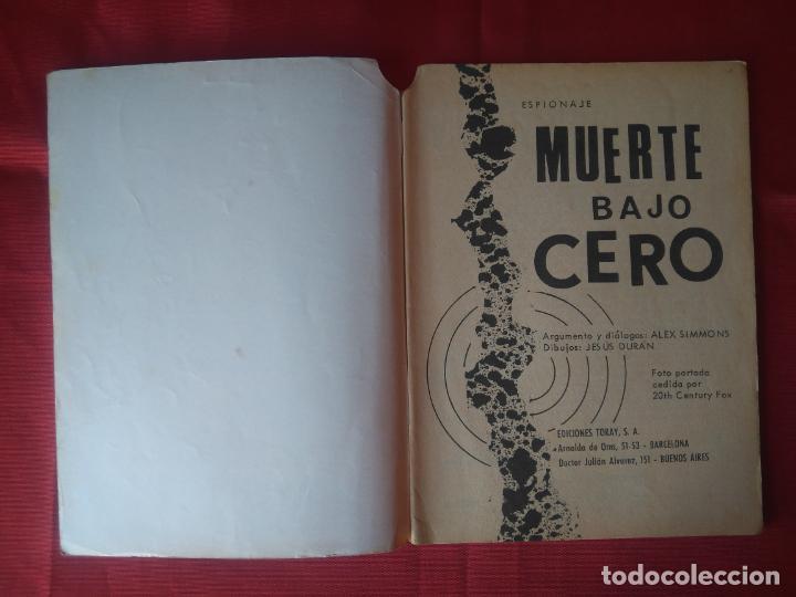 Tebeos: ESPIONAJE Nº 56 - MUERTE BAJO CERO - ED. TORAY - 1967 - 48 PAG. - Foto 2 - 202933227