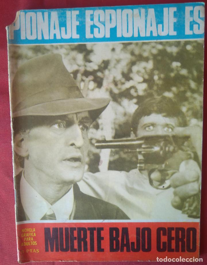 ESPIONAJE Nº 56 - MUERTE BAJO CERO - ED. TORAY - 1967 - 48 PAG. (Tebeos y Comics - Toray - Espionaje)