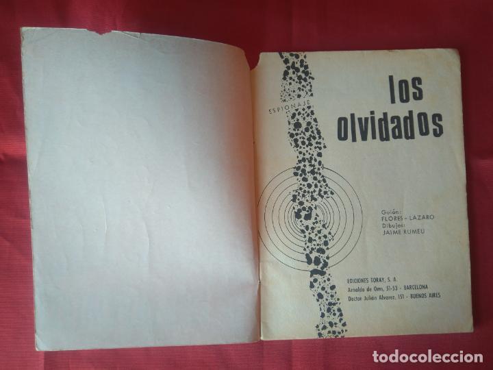 Tebeos: ESPIONAJE Nº 54 - LOS OLVIDADOS - ED. TORAY - 1967 - 48 PAG. - Foto 2 - 202933256