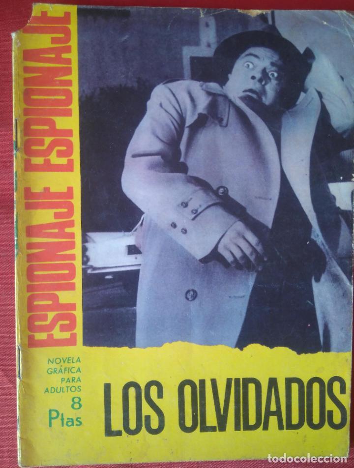 ESPIONAJE Nº 54 - LOS OLVIDADOS - ED. TORAY - 1967 - 48 PAG. (Tebeos y Comics - Toray - Espionaje)