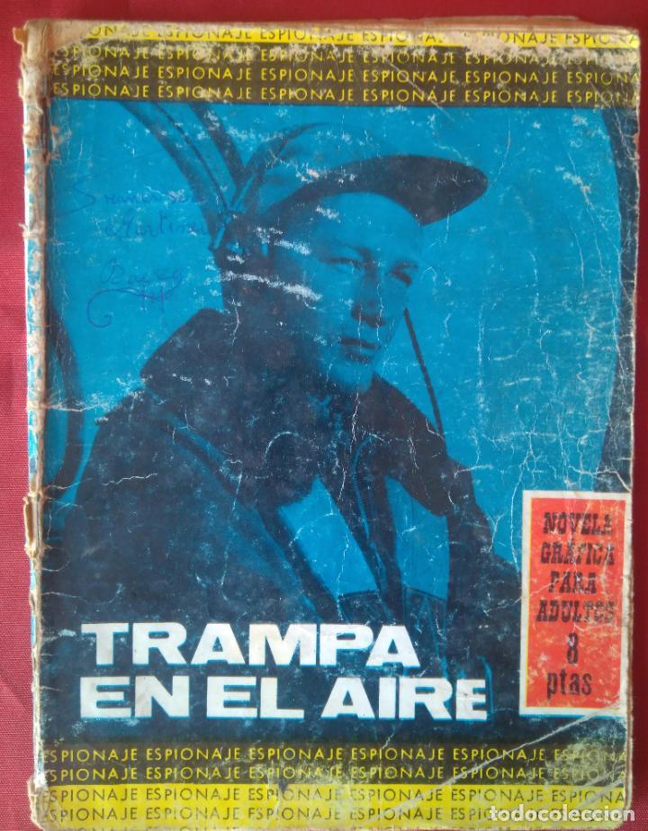 ESPIONAJE Nº 29 - TRAMPA EN EL AIRE - ED. TORAY - AÑOS 60 - 48 PAG. (Tebeos y Comics - Toray - Espionaje)