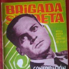 Livros de Banda Desenhada: BRIGADA SECRETA - CONSPIRACION CONTRA UN HOMBRE - Nº54 - ED. TORAY - 1964 - 48 PAG.. Lote 202934470