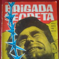 Tebeos: BRIGADA SECRETA - HABITACION 813 - Nº42 - ED. TORAY - 1964 - 48 PAG.. Lote 202934531