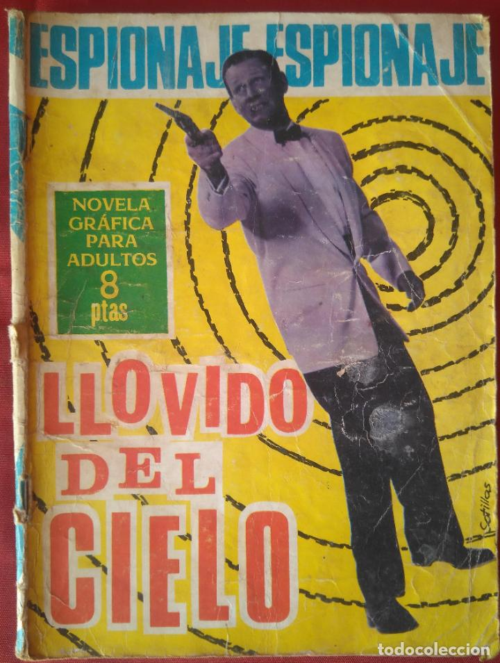 ESPIONAJE Nº 42 - LLOVIDO DEL CIELO - ED. TORAY - 1966 - 48 PAG. (Tebeos y Comics - Toray - Espionaje)