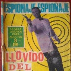 Tebeos: ESPIONAJE Nº 42 - LLOVIDO DEL CIELO - ED. TORAY - 1966 - 48 PAG.. Lote 202934805