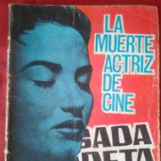 Tebeos: BRIGADA SECRETA - LA MUERTE ACRIZ DE CINE - Nº127 - ED. TORAY - 1965 - 48 PAG.. Lote 202935076