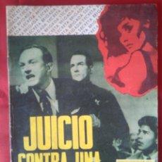 Tebeos: BRIGADA SECRETA - JUICIO CONTRA UNA MUJER FATAL - Nº155 - ED. TORAY - 1966 - 48 PAG.. Lote 202935528