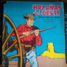 Tebeos: HAZAÑAS DEL OESTE - ED. TORAY - 1965 - Nº99 - 48 PAG.. Lote 202937106