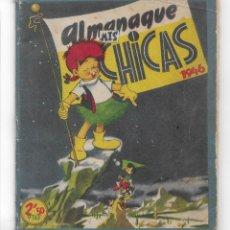 Tebeos: CUENTOS TORAY- ALMANAQUE CHICA - 1946. Lote 202993823
