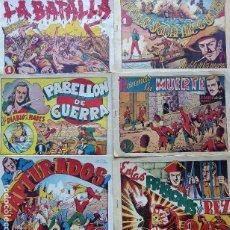 BDs: COM-219. EL DIABLO DE LOS MARES.14 EJEMPLARES SUELTOS ORIGINALES. EDICIONES TORAY, 1948.. Lote 203089850