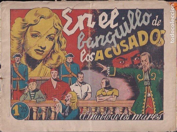 EL DIABLO DE LOS MARES Nº 51. EN EL BANQUILLO DE LOS ACUSADOS (Tebeos y Comics - Toray - Diablo de los Mares)