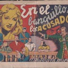 Tebeos: EL DIABLO DE LOS MARES Nº 51. EN EL BANQUILLO DE LOS ACUSADOS. Lote 203335210