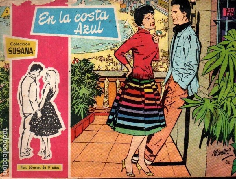 SUSANA Nº 3 : EN LA COSTA AZUL (Tebeos y Comics - Toray - Susana)