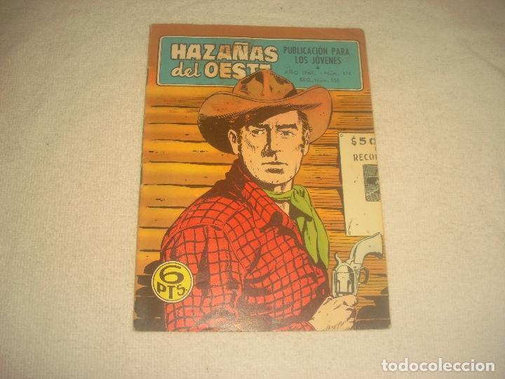 HAZAÑAS DEL OESTE N. 176 . AÑO 1968. (Tebeos y Comics - Toray - Hazañas del Oeste)