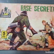 Tebeos: COMBATE 1 BASE SECRETA. Lote 204363960