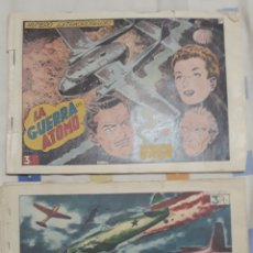 Tebeos: 2 COMICS HAZAÑAS BÉLICAS NUMEROS EXTRAORDINARIOS 87 Y 197 AÑO 1953. Lote 204482070