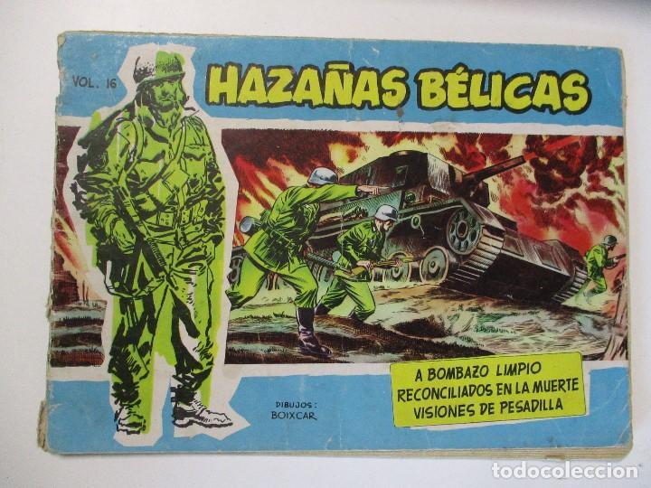 HAZAÑAS BELICAS VOL. 16 TORAY AÑO 1957 (Tebeos y Comics - Toray - Hazañas Bélicas)