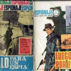 Tebeos: 2 COMICS DE ESPIONAJE EDICIONES TORAY S.A. 1967 FUEGO POR FAVOR N,59 REGALO PARA UN ESPIA N,47. Lote 205148583