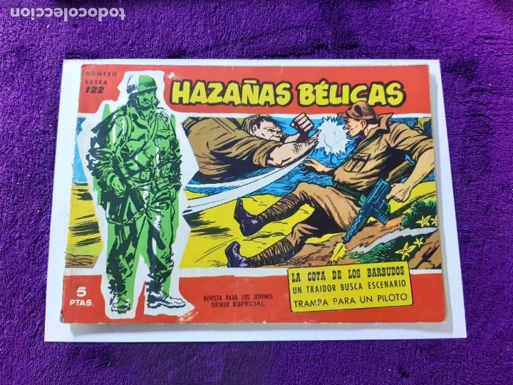 HAZAÑAS BÉLICAS NÚMERO EXTRA 122 BUEN ESTADO (Tebeos y Comics - Toray - Hazañas Bélicas)