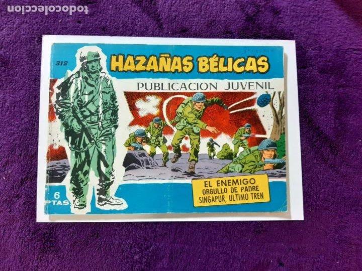 HAZAÑAS BÉLICAS. Nº 312 BUEN ESTADO (Tebeos y Comics - Toray - Hazañas Bélicas)