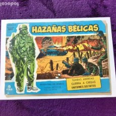 Tebeos: HAZAÑAS BÉLICAS. Nº 195-PORTADA CON PICO CORTADO-. Lote 205302136