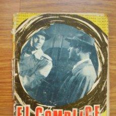 Tebeos: EL CÓMPLICE (BRIGRADA SECRETA Nº 141) TORAY 1966. Lote 205343026