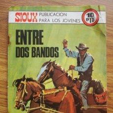 Tebeos: SIOUX Nº 171 ENTRE DOS BANDOS (TORAY 1970). Lote 205343401