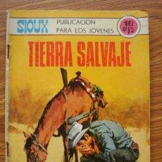 Tebeos: SIOUX Nº 149 TIERRA SALVAJE (TORAY 1970). Lote 205343445