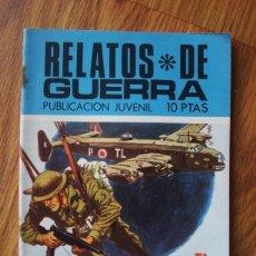 Tebeos: RELATOS DE GUERRA Nº 197 EL SABOTAJE (TORAY 1970). Lote 205347538