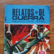 Tebeos: RELATOS DE GUERRA Nº 194 EL GRAN SECRETO (TORAY 1970). Lote 205347950
