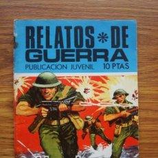 Tebeos: RELATOS DE GUERRA Nº 196 EL HEREDERO (TORAY 1970). Lote 205348048