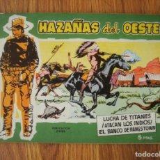Tebeos: HAZAÑAS DEL OESTE Nº 12 (TORAY 1959). Lote 205389133