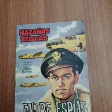 Tebeos: HAZAÑAS BELICAS -ENTRE ESPIAS. Lote 205398865