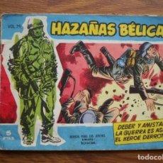 Tebeos: HAZAÑAS BÉLICAS NÚMERO 79 (TORAY 1958). Lote 205402188
