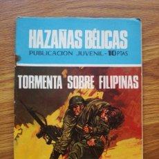 Tebeos: HAZAÑAS BÉLICAS NÚMERO 236 (TORAY 1970) TORMENTA SOBRE FILIPINAS. Lote 205405006