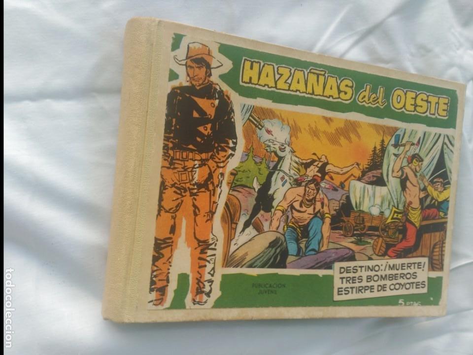 HAZAÑAS DEL OESTE.TOMO DE 10 TEBEOS DE TAPA DURA.TORAY (Tebeos y Comics - Toray - Hazañas del Oeste)