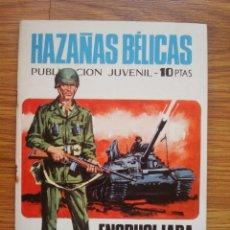 Tebeos: HAZAÑAS BÉLICAS NÚMERO 223 (TORAY 1970) ENCRUCIJADA DE MUERTE. Lote 205405256