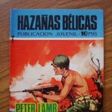 Tebeos: HAZAÑAS BÉLICAS NÚMERO 222 (TORAY 1970) PETER LAMB SE VA LA GUERRA. Lote 205405487